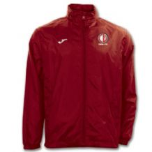 Crewe United Rain Jacket Red - Youth 2018